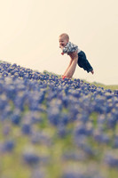 jenna's dream ~ a family in bluebonnets ~